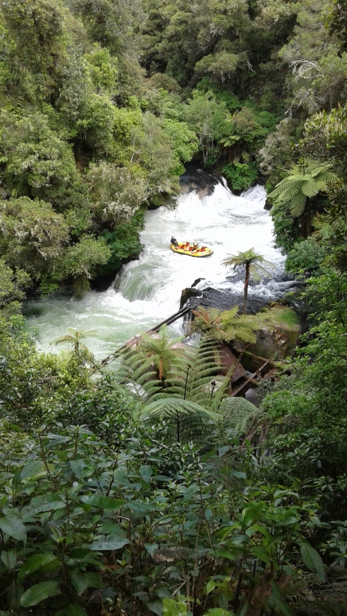 Rafting at Okere Falls