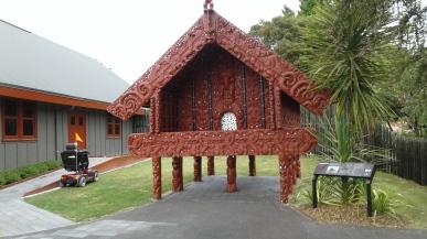 Pataka at Te Puia- for tribal food /treasures storage