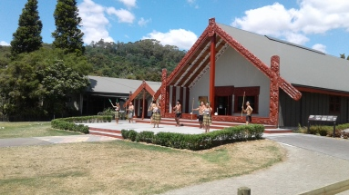 Welcome from Maori cultural group